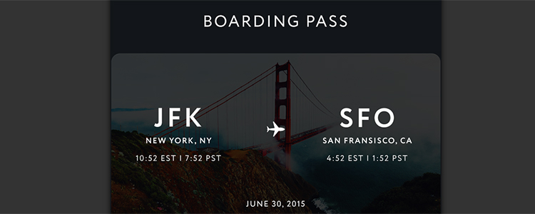 20 beautiful and practical printed and digital boarding pass designs you need to see.