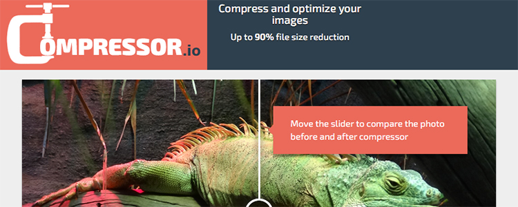 Compressor.io offers free image compression in your browser.