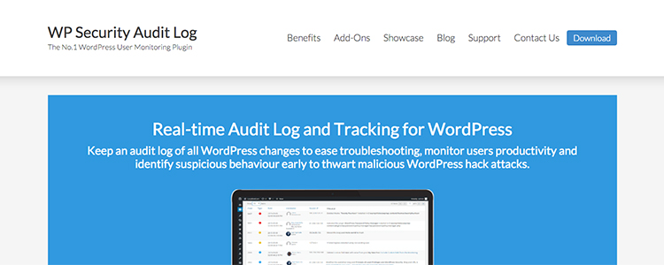 Real-time audit log and tracking for WordPress.