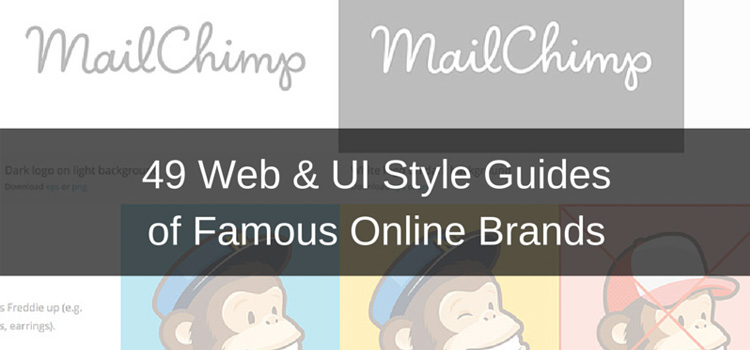 49 Web & UI Style Guides of Famous Online Brands