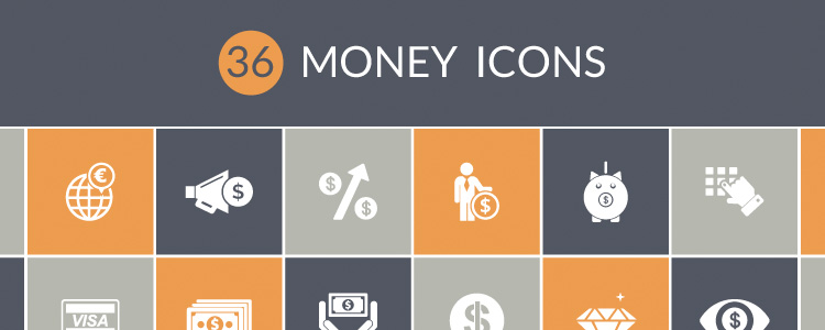 Download 36 Money Icons - Free!