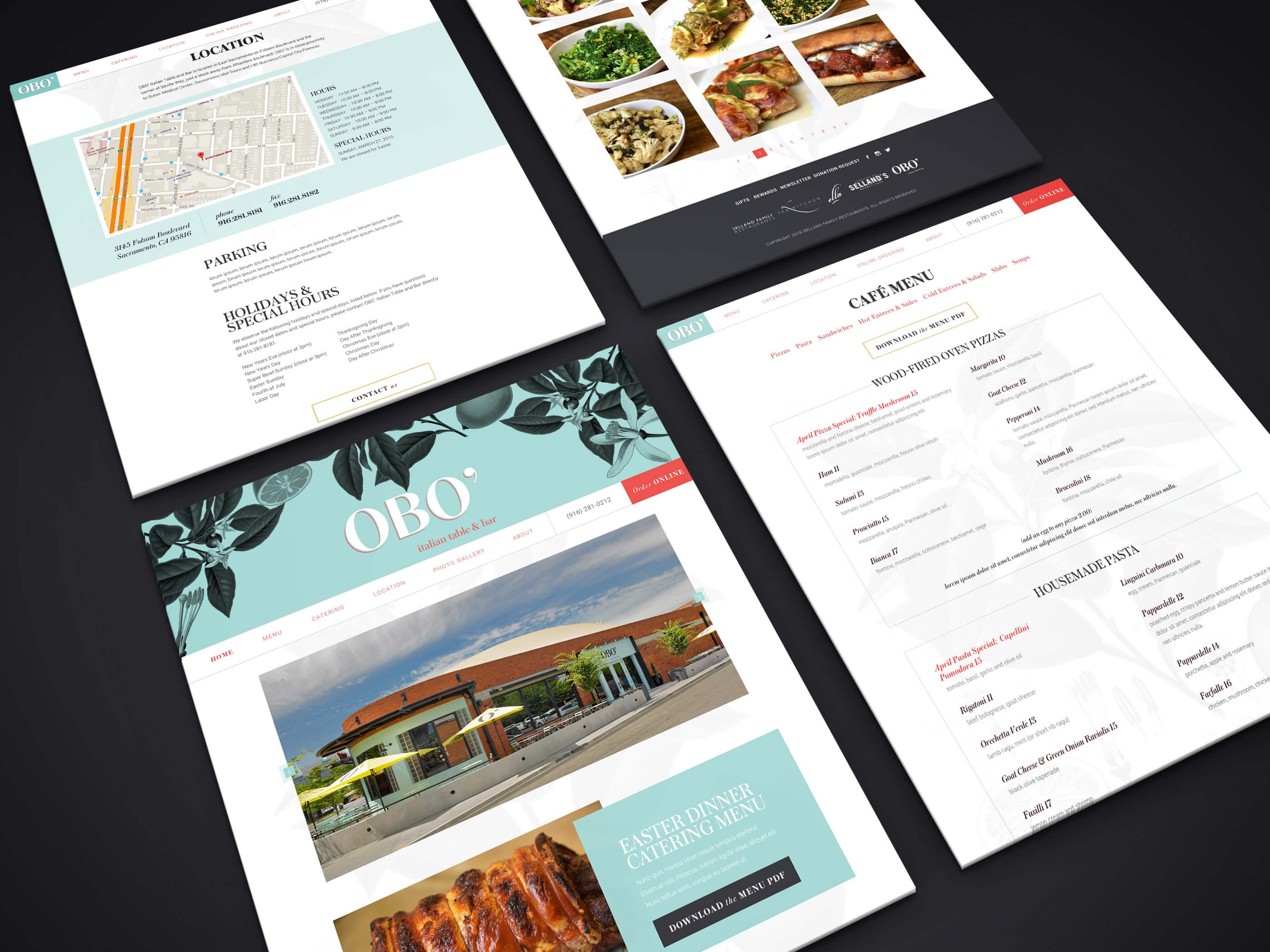 OBO Italian Table and Bar Website Three29