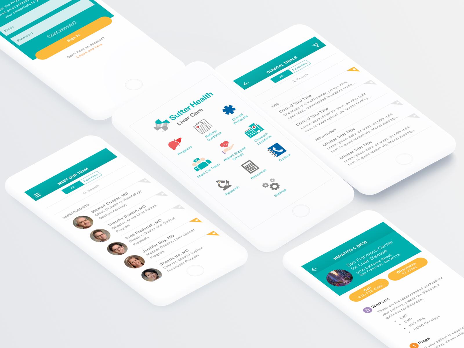 Sutter Liver Care App